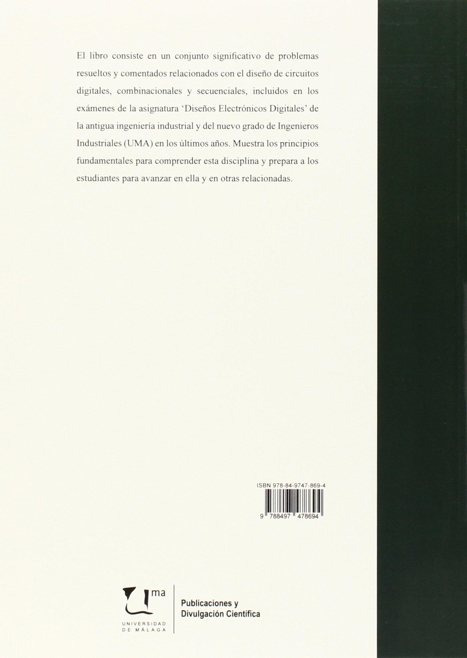 Electrónica digital: Problemas resueltos (Manuales): Amazon.es: Alfonso  Gago Calderón, José Luis González Retamero: Libros