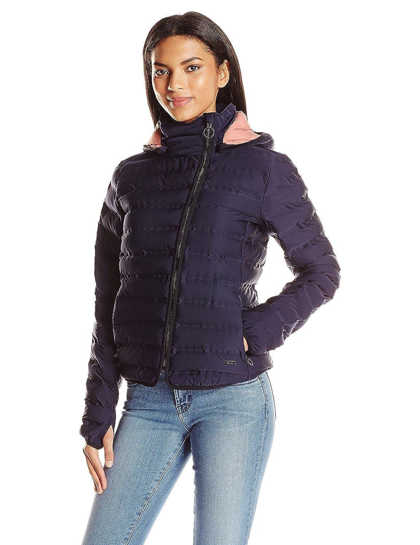 Bench Women's Full Zip Puffer Jacket Maritime Blue XS [並行輸入品] B075CHZJS2