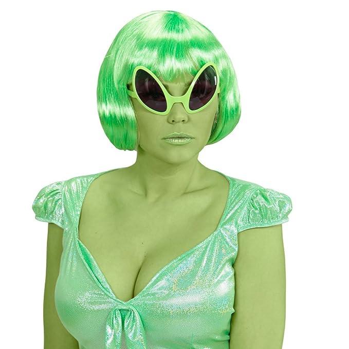 NET TOYS Gafas de Extraterrestre Broma alienígena Lentes Sol Traje ...