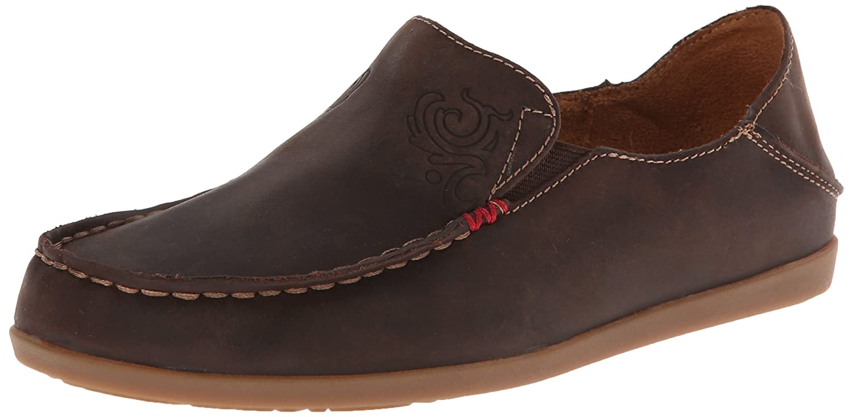 OLUKAI Pehuea Shoes - Women's B006T6CT4E 6.5 M US|Dark Java/Tan
