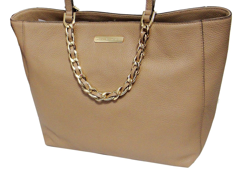 3982d2972418 Michael Kors Harper Large East West Tote Bag Genuine Leather Dark Khaki:  Handbags: Amazon.com