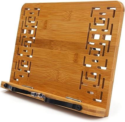Tragbare Buchhalter aus Holz Buchhalter Faltbarer Leseständer Rack