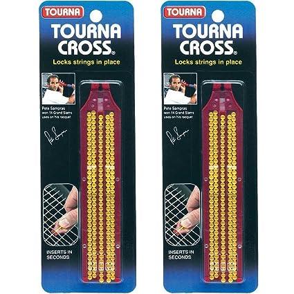 Unique Tourna Cross Sampras Tennis Racquet String Saver-Refills-10 Pack 6-Pack