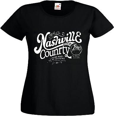 T-Shirt Camiseta Remera Nashville Condado DE BÉISBOL béisbol Bate de béisbol Equipo de béisbol de la Camisa del fútbol de béisbol Bate de béisbol Jugador de béisbol Equipo Camiseta béisbol in Negro: