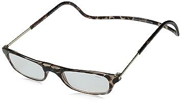 76211b0c29c Amazon.com  Clic Magnetic Reading Glasses Tortoise +1.25  Health ...