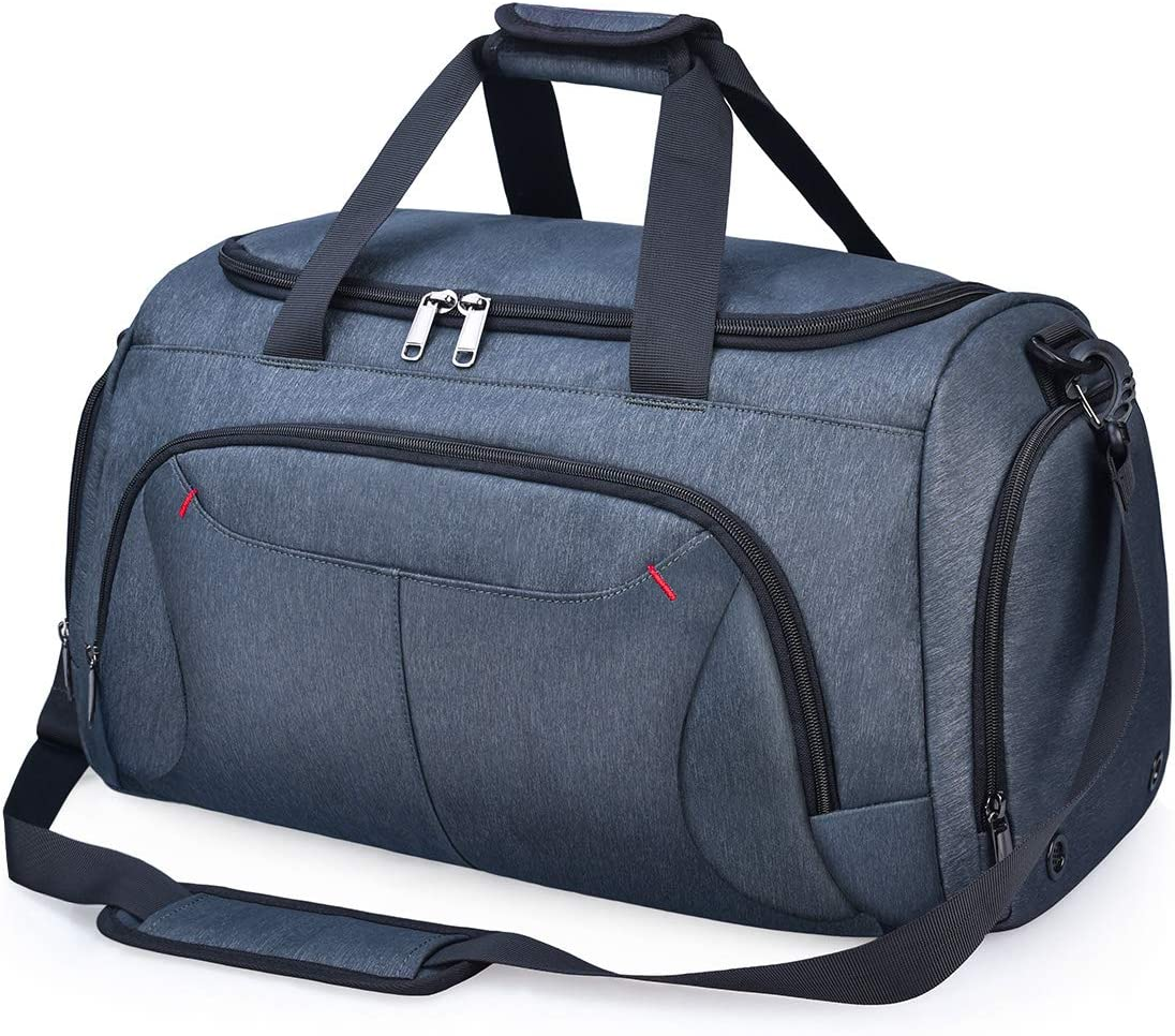 Duffle Bag Travel Mens Womens Overnight Sports Gym Large Weekender Waterproof