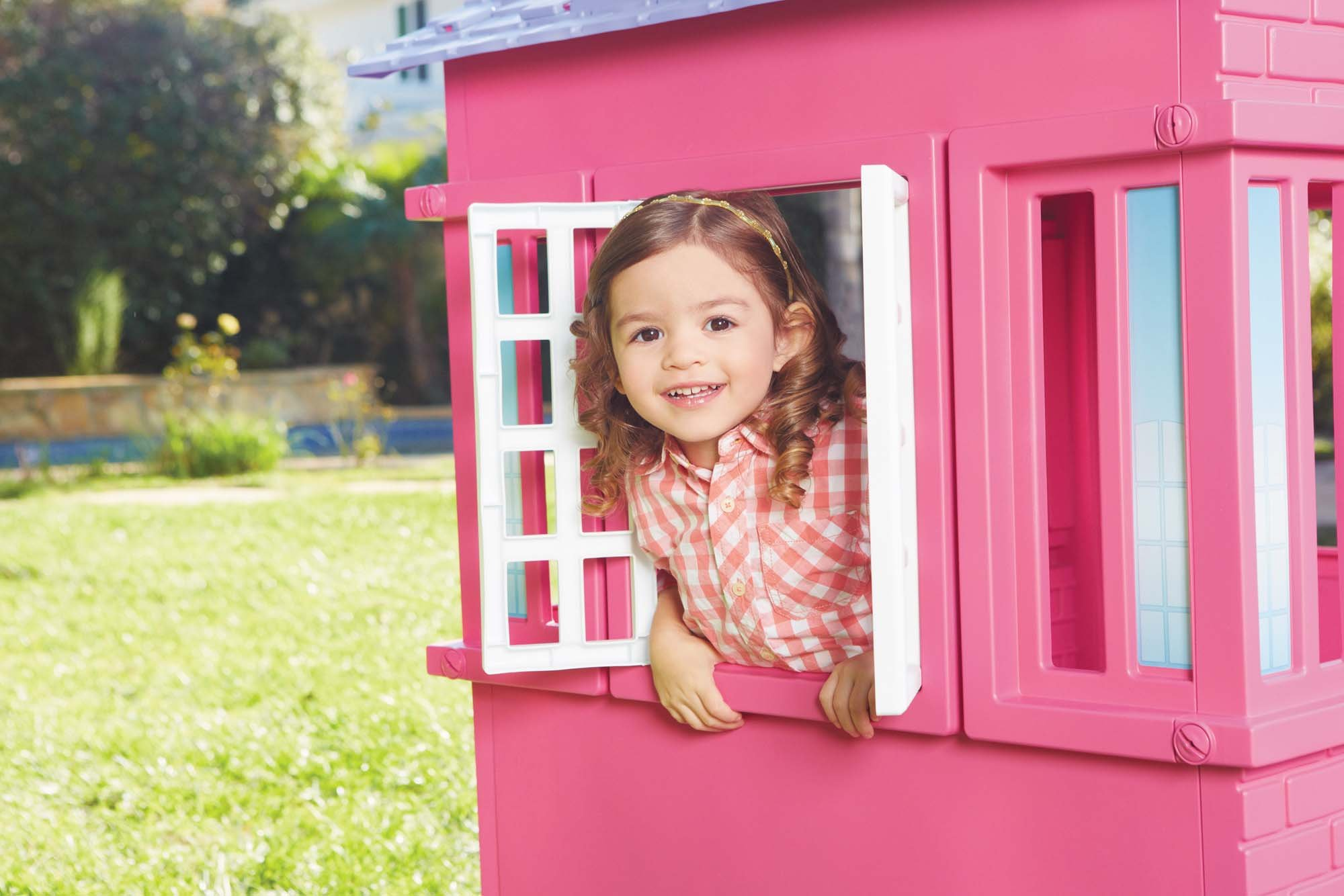Little Tikes Princess Cape Cottage Playhouse, Pink by Little Tikes (Image #4)