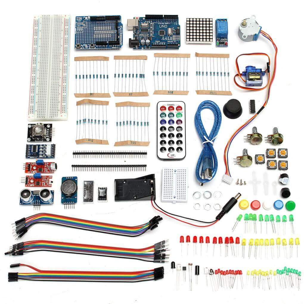 Yongse Ultimate UNO R3 Starter with Stepper Servo Motor Relay RTC ...