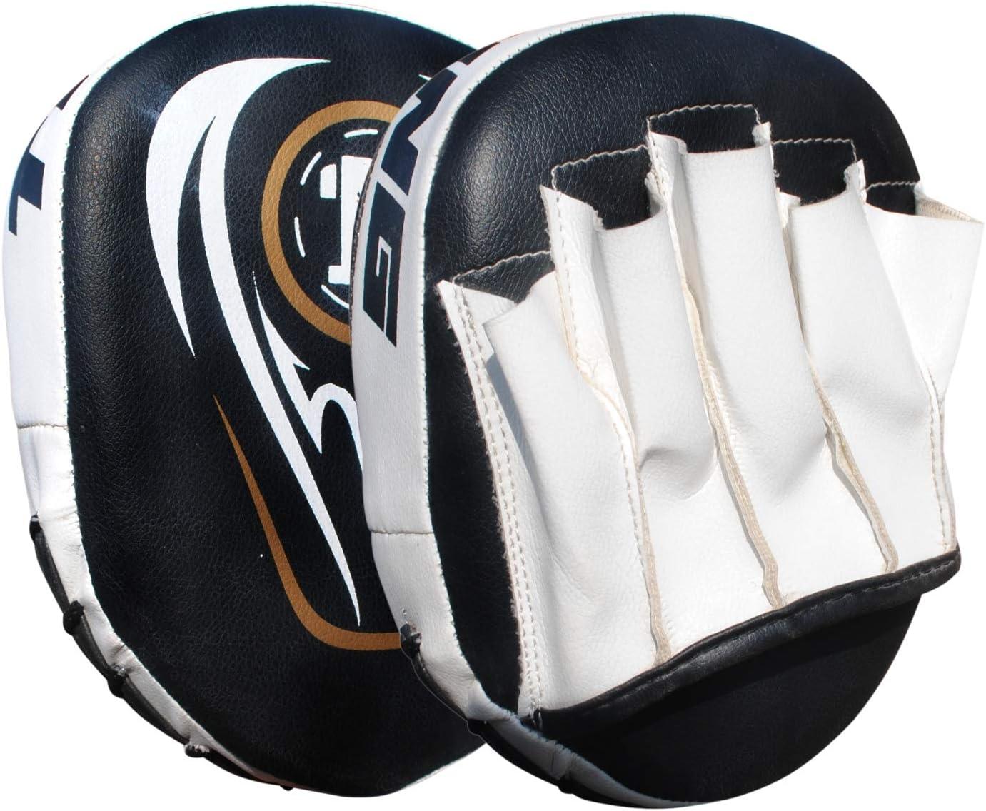 ONEX Boxeo ni/ños Pad de Enfoque Mitones de perforaci/ón Almohadillas de perforaci/ón Rectas Equipos de MMA de Strike Hook /& Jab Karate Muay tailand/és Coj/ín Guantes de Entrenamiento
