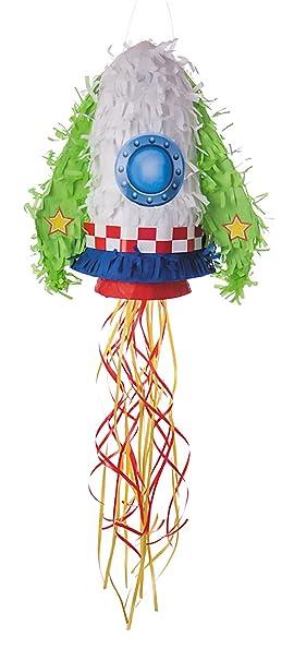 Party Pro - 40110 - Piñata - Cohete: Amazon.es: Juguetes y ...