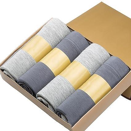 Ropa Interior para Hombres Calzoncillos Boxer para Hombres 4 Pack de Ropa Interior Grande para Hombres