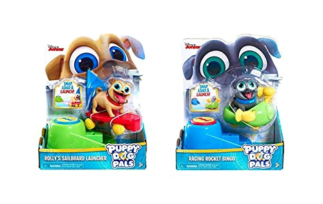 7571909f9b6 Image Unavailable. Image not available for. Color  Puppy Dog Pals Disney Jr  Racing Rocket Bingo ...