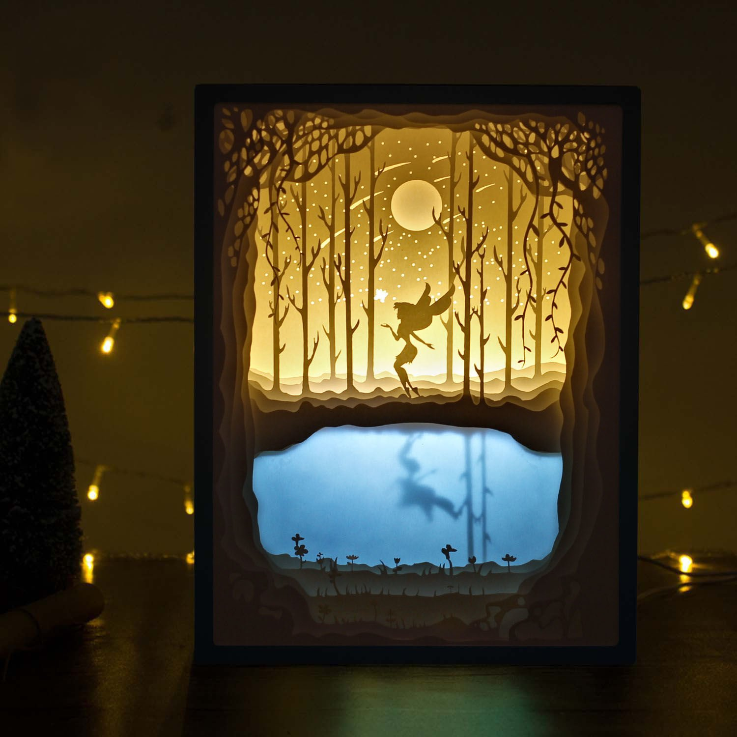 Amazon Papercut Light Boxes Night Lamp Of Creative Paintings
