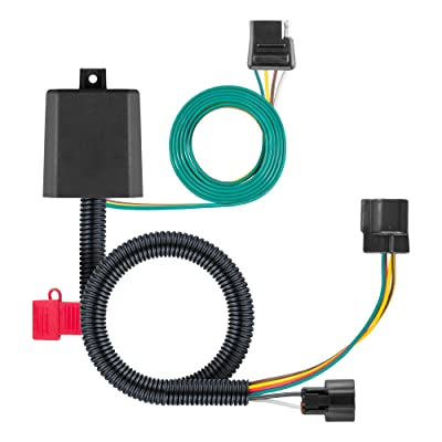 CURT 56346 Vehicle-Side Custom 4-Pin Trailer Wiring Harness, Select Hyundai Santa Fe: Automotive