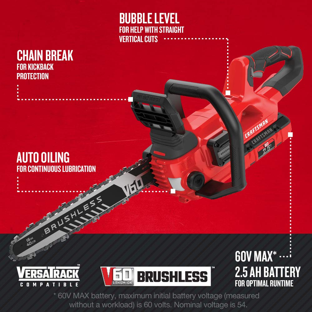 Craftsman CMCCS660E1 Chainsaws product image 2