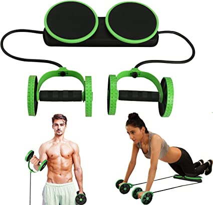 Ab Wheel Fitness Equipment Machine For Workout Home Gym Abs Exercise Excersize W
