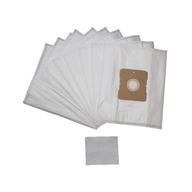 10 bolsas de aspiradora y 1 microfiltro, apto para aspiradoras Dirt Devil, por ejemplo, equ 4, equ 5, Skuppy y otros: Amazon.es: Hogar
