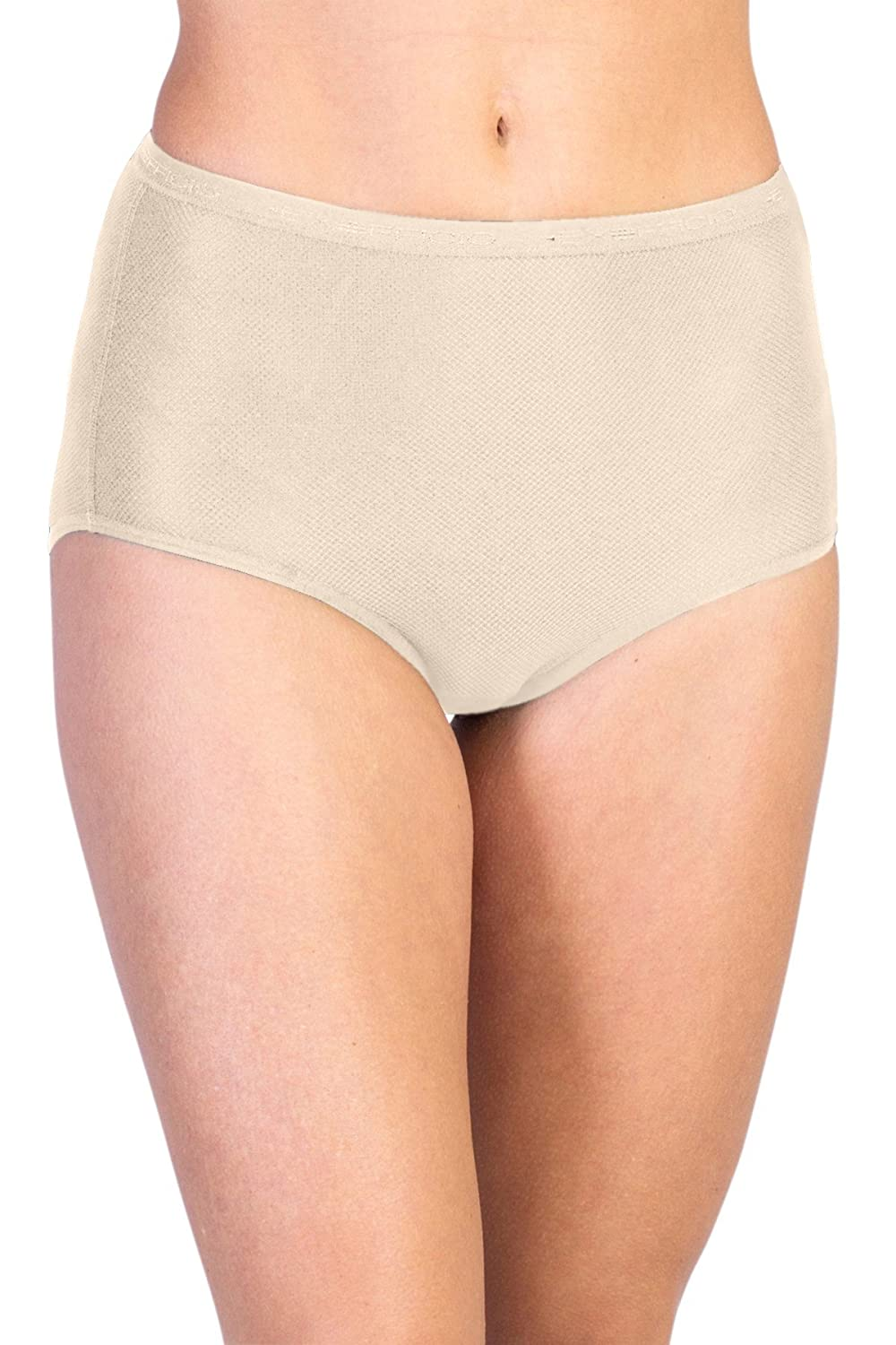 Nude Taille XS ExOfficio Femme Give-n-go Full Cut Brief