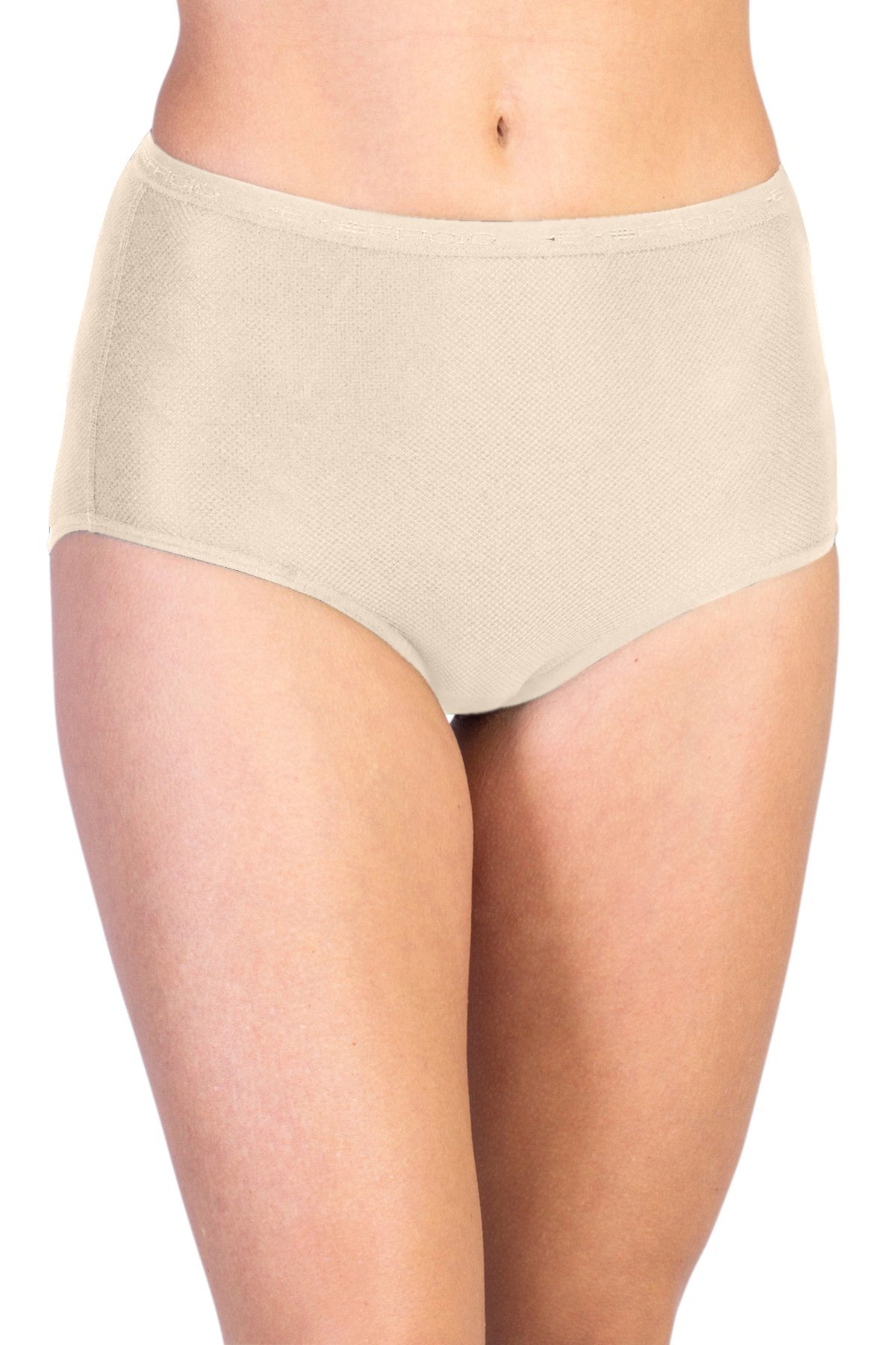 ExOfficio Women's Give-N-Go Full Cut Brief, Nude, X-Small