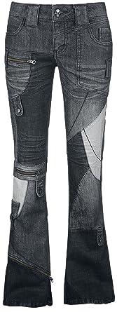 Nicki Girl-Jeans schwarz Rock Rebel by EMP OkLPD