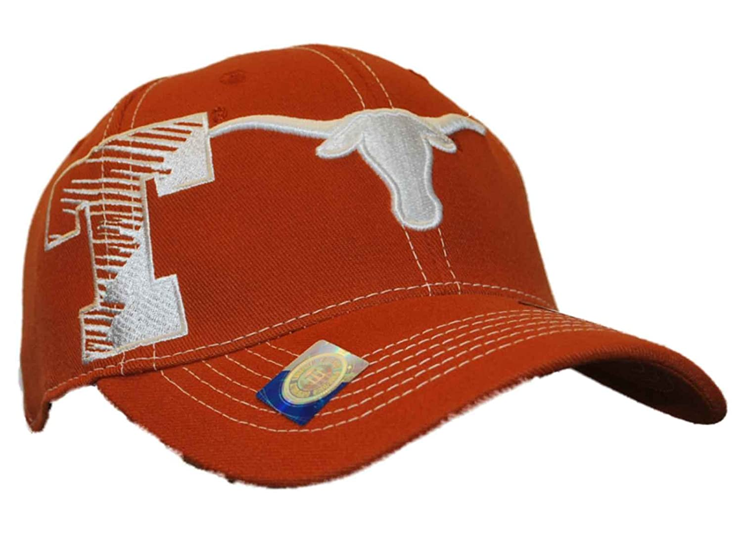 online store 1a67e 1ddab Amazon.com  NCAA Top of the World Texas Longhorns Sketch One-Fit Hat - Burnt  Orange  Clothing