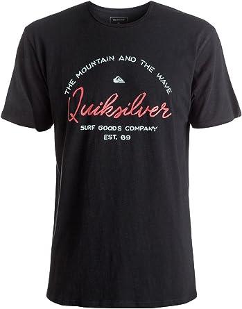 Quiksilver EQYZT04290, Camiseta para Hombre: Quiksilver: Amazon.es: Ropa y accesorios