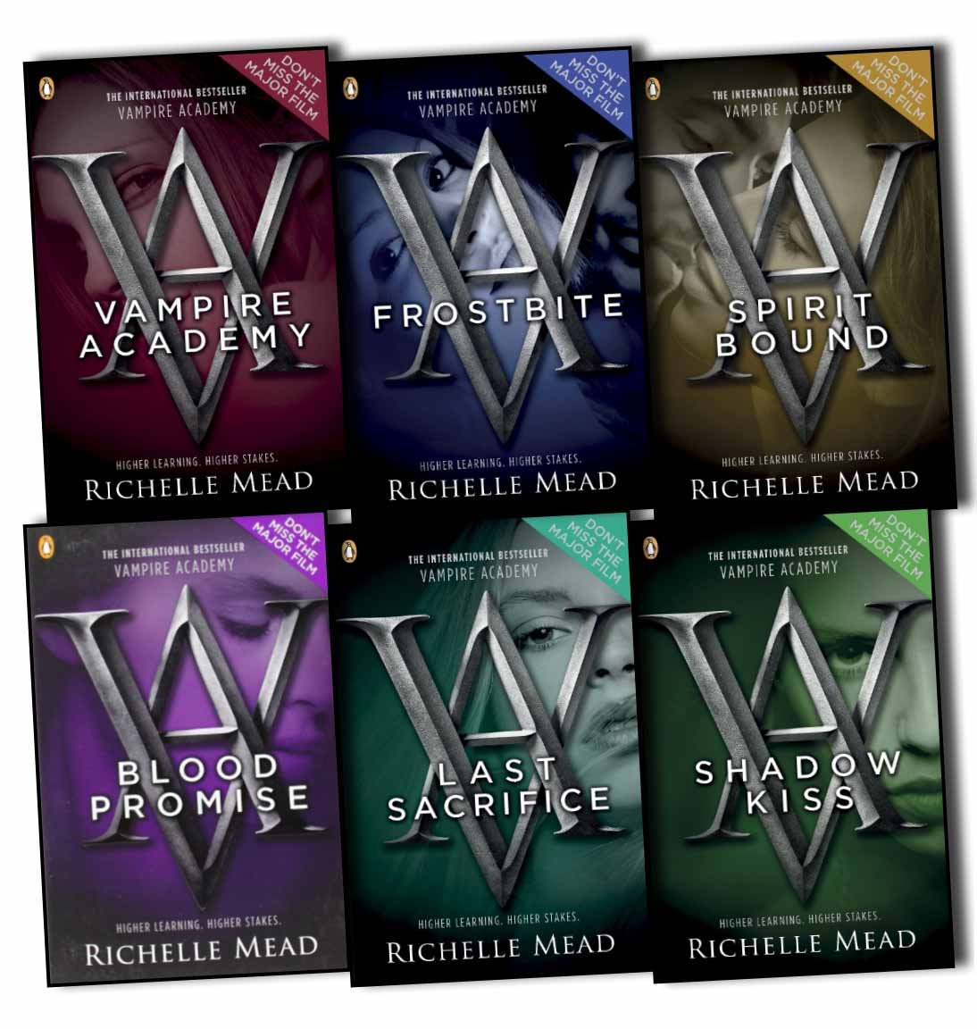 Richelle Mead Vampire Academy 6 Books Collection Pack Set PDF