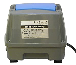 Blue Diamond ET 80 Septic or Pond Linear Diaphragm Air Pump