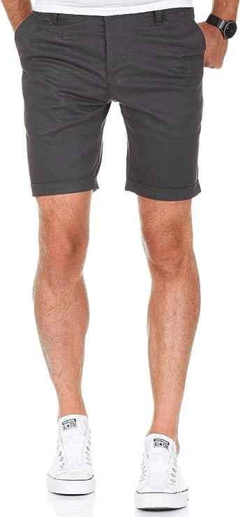 TALLA 29W. Amaci&Sons 7013 - Pantalones cortos chinos para hombre (corte regular)
