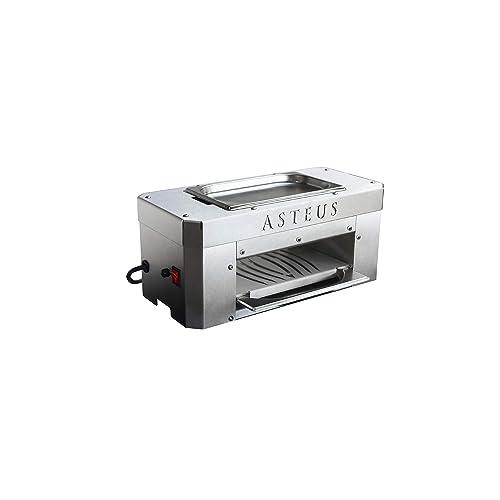 Asteus Candle Light Infrarot Elektro Grill 650 Grad IndoorOutdoor Edelstahl V2A