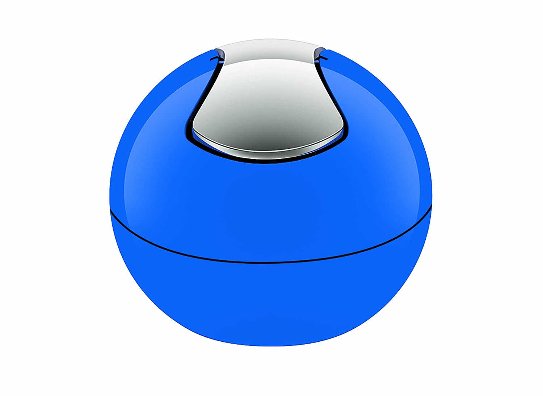 Spirella Bowl 10.14969 Rubbish Bin Shiny Blue
