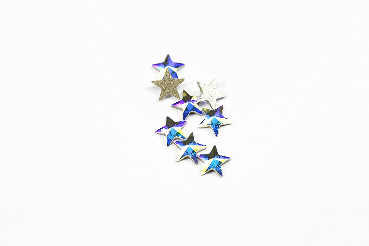 Swarovski Crystals Star Flat Back Article 2816 - Small Pack-Crystal Ab-5Mm-8 Swarovski Element