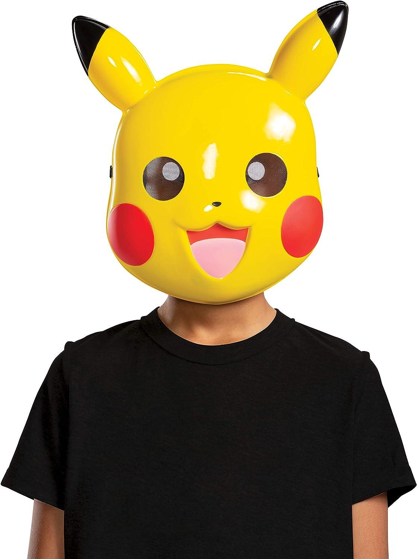 de 4 a 8 a/ños Pikachu Juego de sombrero y guantes de Pok/émon ni/ños y ni/ñas