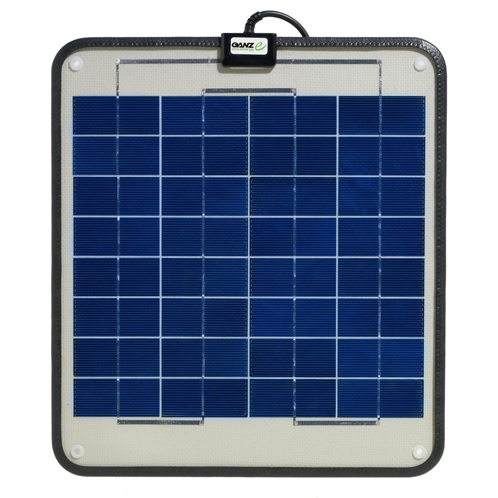 GANZ ECO-ENERGY Ganz Eco-Energy Semi-Flexible Solar Panel - 12W / GSP-12 /
