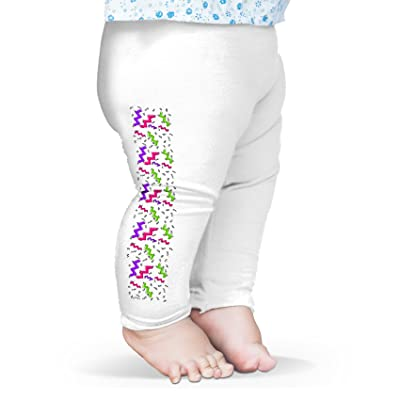 Twisted Envy Eighties Squiggle Pattern Baby Funny Leggings Trousers