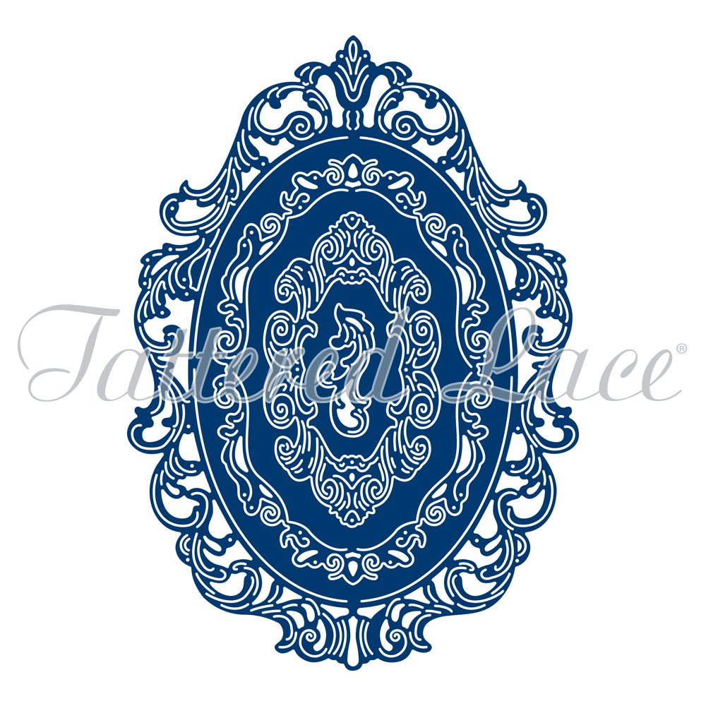 Tattered Lace Essentials - Victorian Decorative Oval 4-pc Die Set