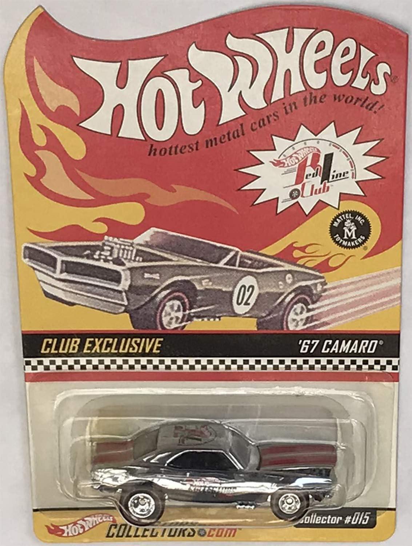 #149 2009 Hot Wheels /'67 Camaro Col Walmart Exclusive Red Lines