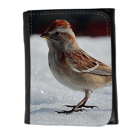 le portefeuille de grands luxe femmes avec beaucoup de compartiments // F00024201 Gorrión en nieve