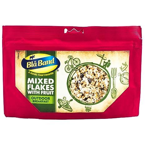 Cinta Blå al aire libre Breakfast - cuatro copos de maíz