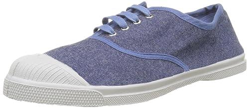 Bensimon Tennis Elastique, Zapatillas para Mujer, Azul (Denim), 40 EU