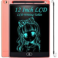 JOEAIS Tableta Escritura LCD 12 Pulgadas, Anti-caída Tablet Dibujo, Tablet para Dibujar para Niños, Regalo para Niños…