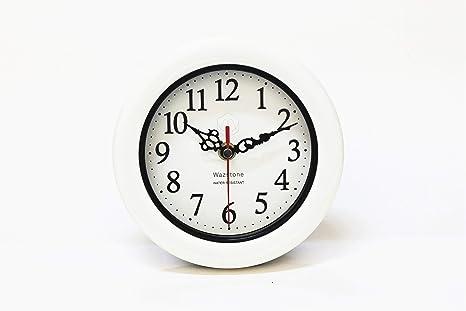 Amazon.com: Perfect Shell White Pearl cuarzo reloj ...