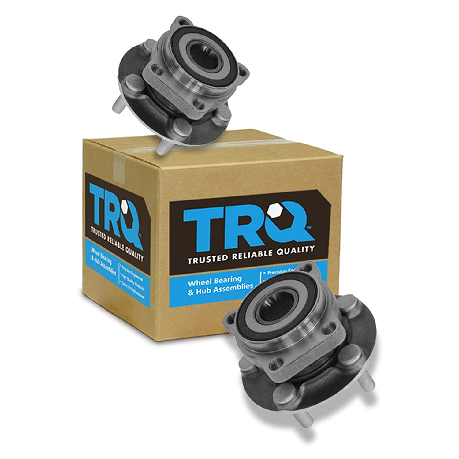 Front Wheel Hub & Bearing Pair Set for 05-11 Legacy Outback TRQ