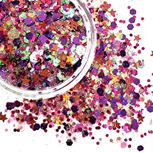 Chunky Glitter Makeup ✮ Starlightshine Barbie 6g ✮ Festival Holographic Glitter Cosmetic Beauty Makeup Face Body Glitter Hair Nails Rave Glitter