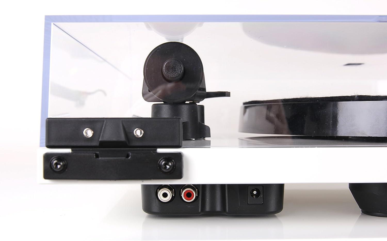 Entzerrer Rega Planar 1 Plus Plattenspieler in Weiss mit eingbauter Phono-Vorstufe