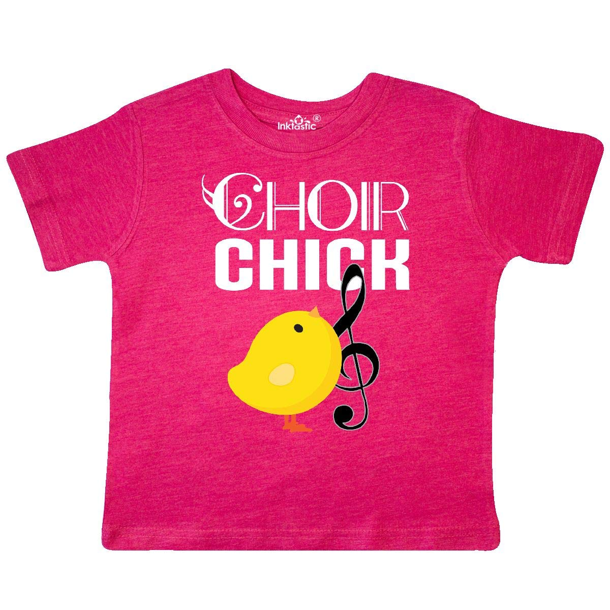 inktastic Choir Chick Music Gift Toddler T-Shirt