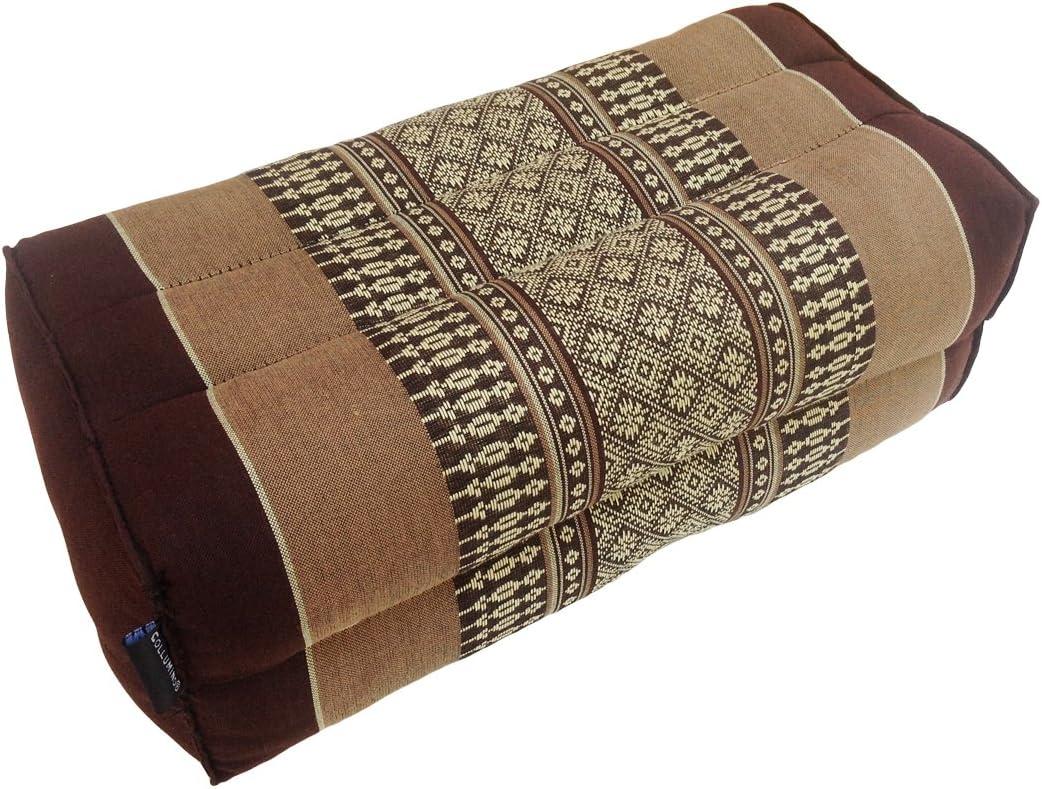 Kapok traditionnel tha/ï coussin de soutien pour yoga et m/éditation de 35 x 15 cm