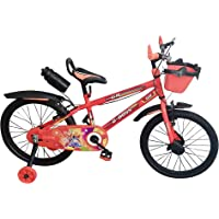 Global Bikes Iron Man 20T for Kids 7 to 12 Years Fully Adjustable Bicycle with Bottle for Boys and Girls (20T BMX,Orange)