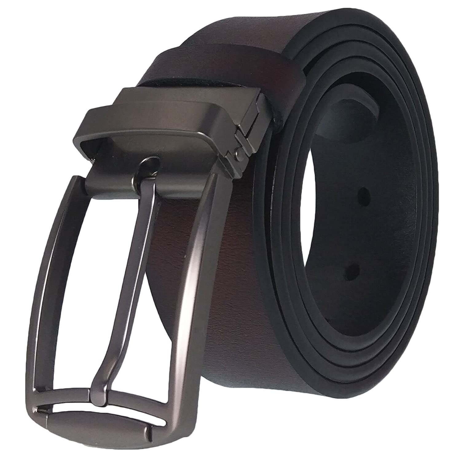 Men's Belt, West Leathers Top Grain Leather Belt for Men, Trim to Fit Men' s Belt B2018F