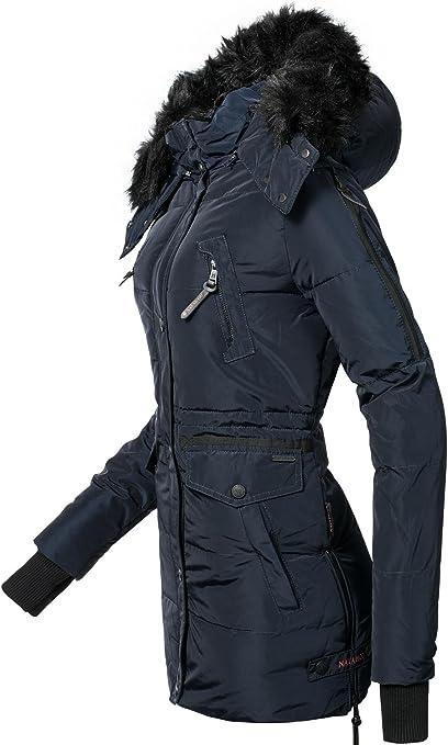 Navahoo Damen Jacke Wintermantel Winterparka Sesa (vegan hergestellt) 4 Farben XS XXL